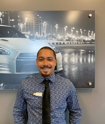 Product Specialist Eli Bermudez in Sales at Lokey Nissan