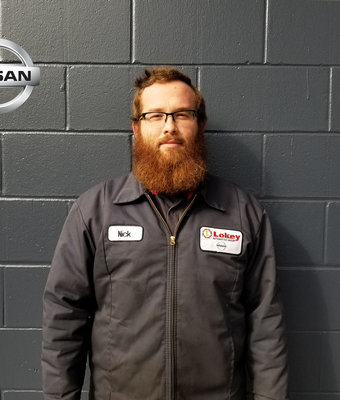 Service Dispatch NICK ROWE in Service at Lokey Nissan