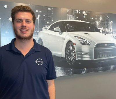 Sales Associate Jackson Reid in Sales at Lokey Nissan