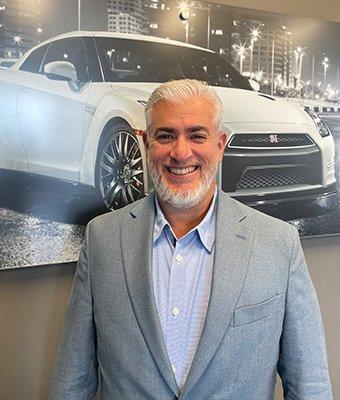Sales Associate Ricardo Cestero in Sales at Lokey Nissan