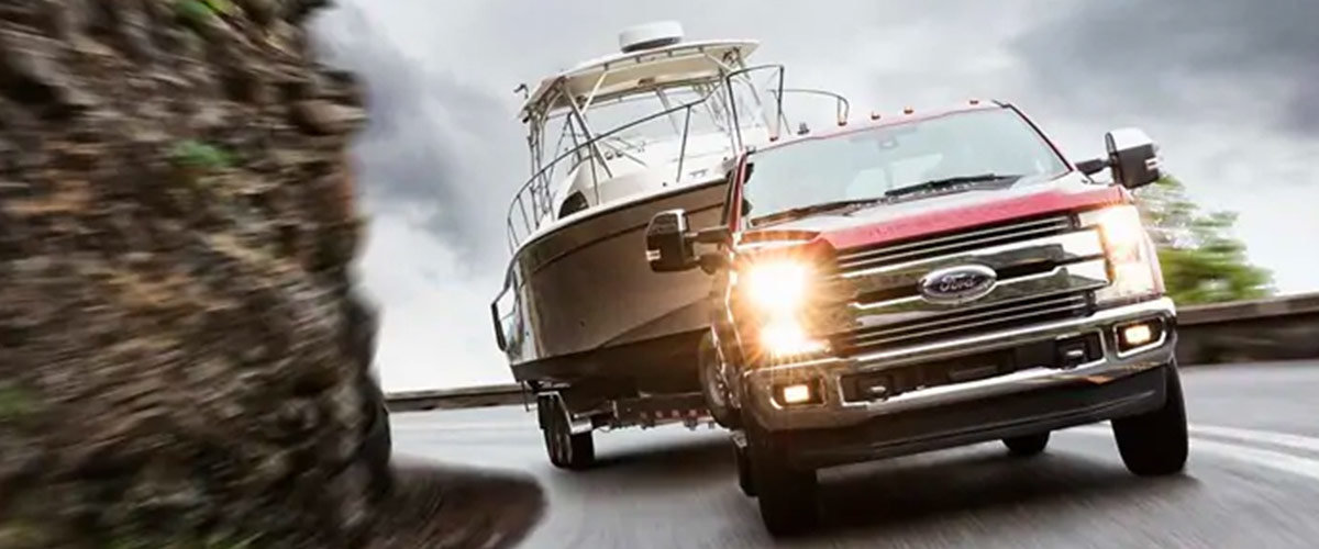 Ford co-pilot360 towing technology