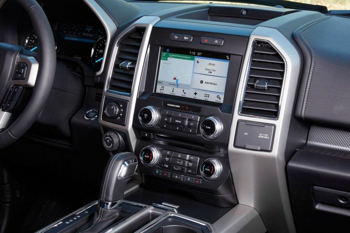2018 Ford F-150 touchscreen