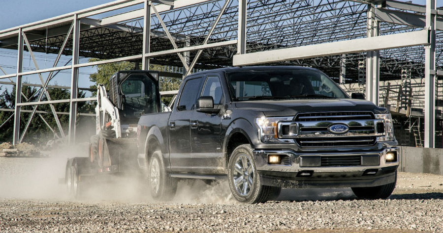 2018 Ford F-150 Exterior Front Profile View_o
