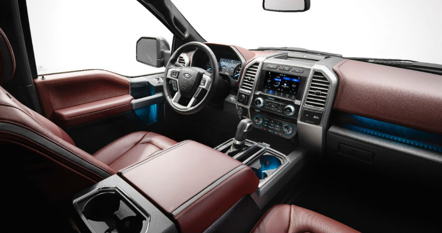 2018 Ford F-150 Interior Cabin Front Seats_o