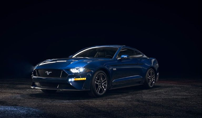 2018 Ford Mustang Kona Blue