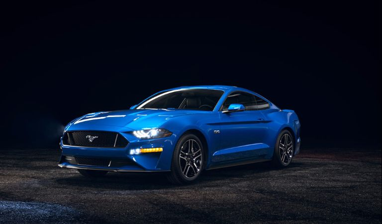 2018 Ford Mustang Lightning Blue