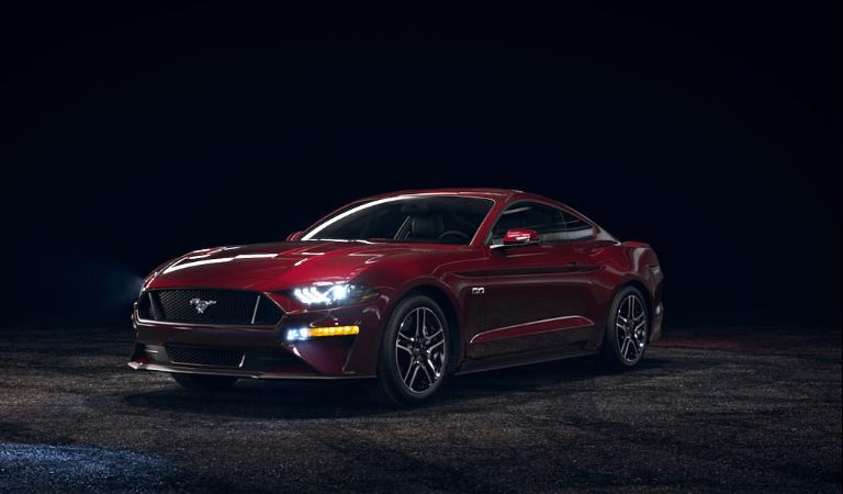 2018 Ford Mustang Royal Crimson