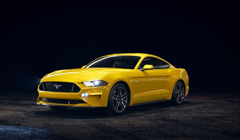 2018 Ford Mustang Triple Yellow
