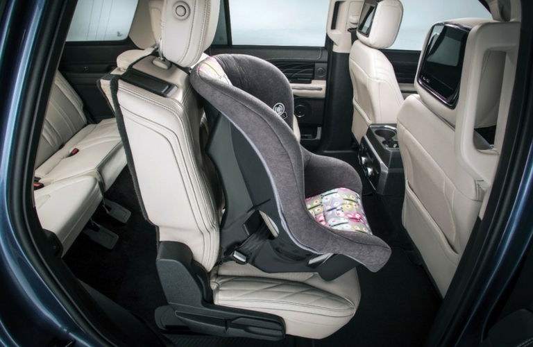 2018 ford expedition interior seating
