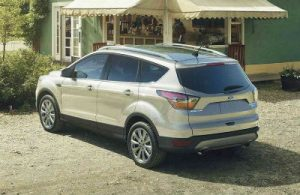 2019 Ford Escape exterior back fascia and passenger side
