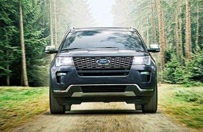 2019 Ford Explorer exterior front fascia