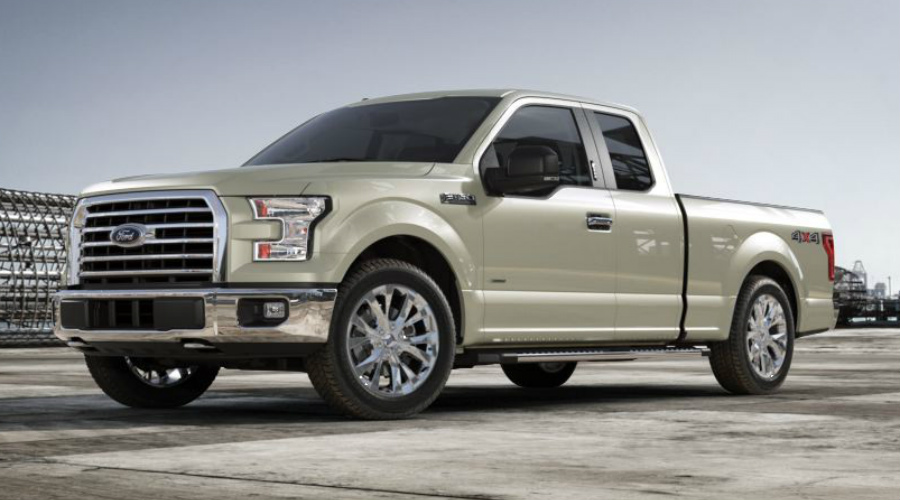 White Gold 2017 Ford F 150