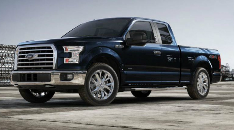 Blue Jeans 2017 Ford F-150