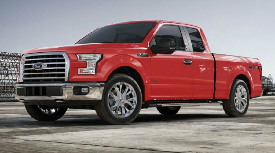 Race Red 2017 Ford F-150