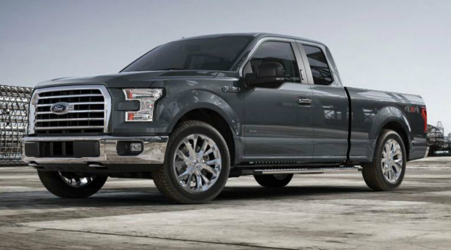 Lithium Gray 2017 Ford F-150