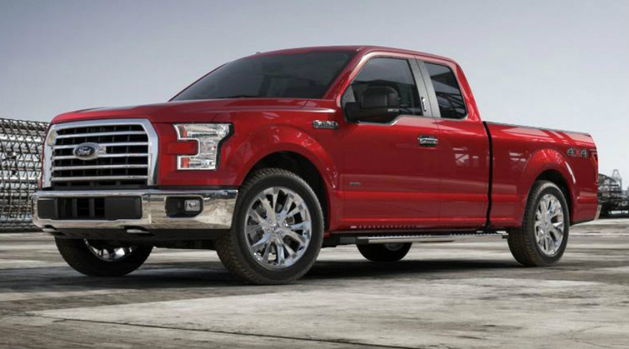 Ruby Red 2017 Ford F-150
