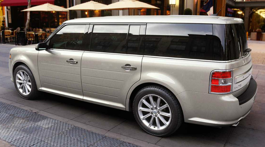 2018 Ford Flex in White Gold