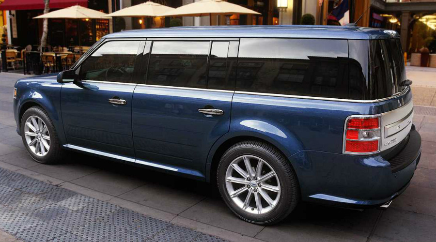 2018 Ford Flex in Blue Metallic