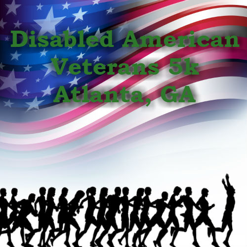 November Charity Events: Disabled American Veterans 5k in Atlanta, GA