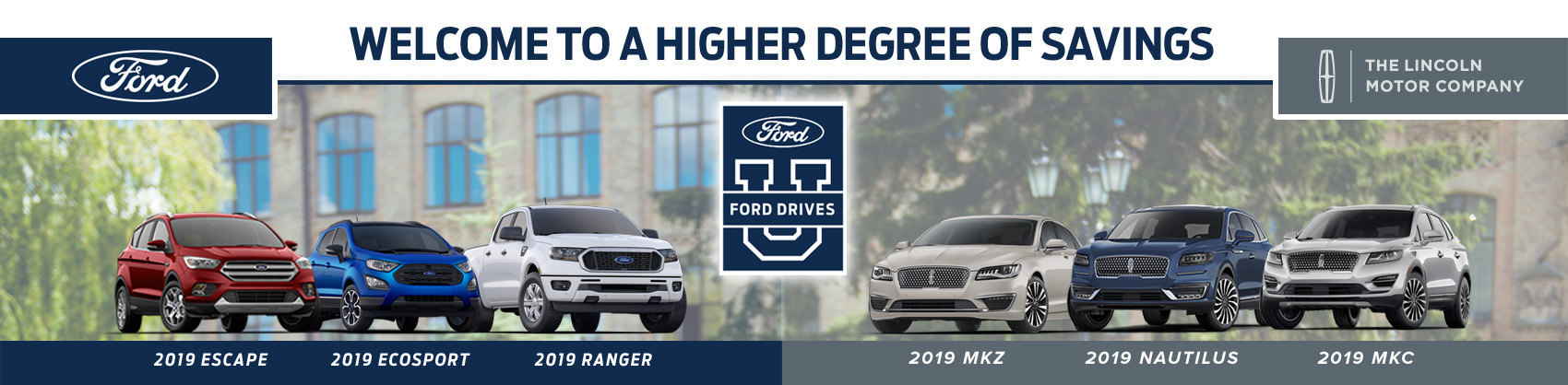 select ford and lincoln vehicle models in smyrna