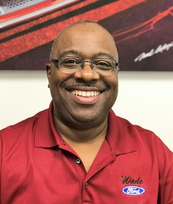 Parts Manager Fred Moore Sr. in Management at Wade Ford