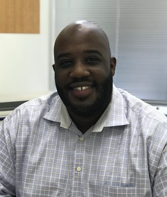 Finance Manager Tomarcus Barnes in Finance at Wade Ford