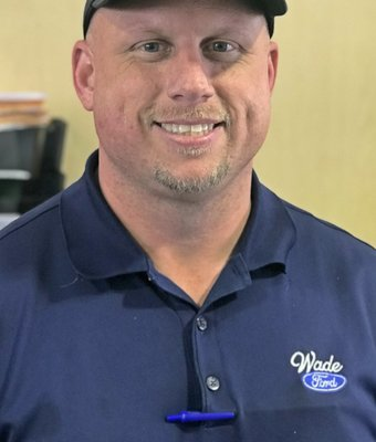 Service Manager Jason Smith in Management at Wade Ford