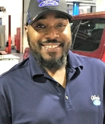 Service Advisor Ayodele Dawson in Service at Wade Ford