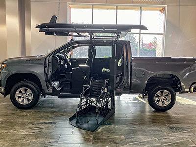 new atc truck conversion in athen ga showroom