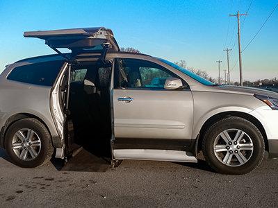 rear passenger atc conversion on suv