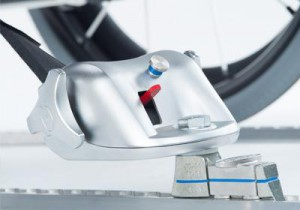 retractable wheelchair tie-down