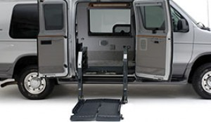 slide-away wheelchair lift