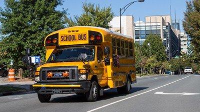 moving school bus