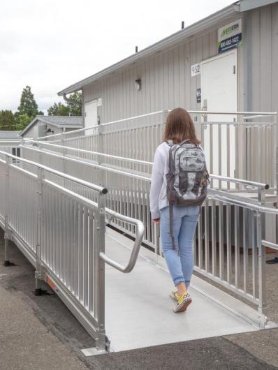 school ramp