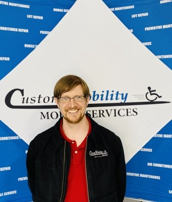 In-Home Technician Dane Presley in In-Home at Custom Mobility