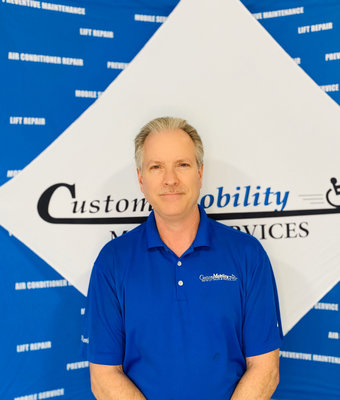 In-Home Product Manager Frank Presley in In-Home at Custom Mobility