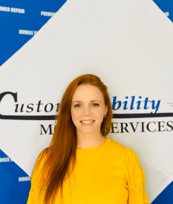 Marketing Manager Genny Acres in Manager at Custom Mobility