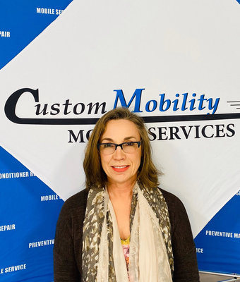 Finance/Accounting Carrie Taylor in Customer at Custom Mobility