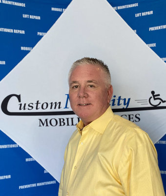 Mobility Consultant Sales Russell Downs in Sales at Custom Mobility