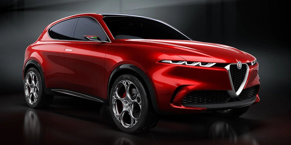 The New Alfa Romeo Tonale Concept Vehicle