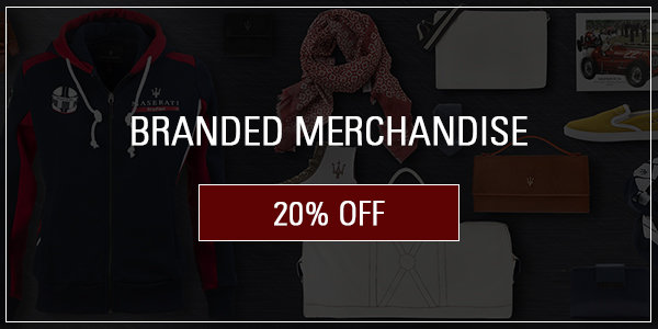 Coupon for 20% off Branded Merchandise including Tee shirts,polo shirts and specialty gift items