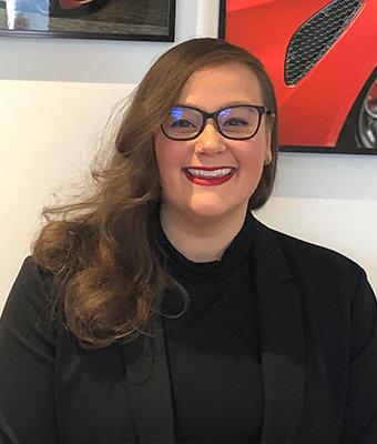 Internet Sales Specialist Kayla Maroni in Sales at Ken Pollock Alfa Romeo