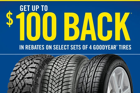 UP TO A $100 REBATE BY MAIL.*