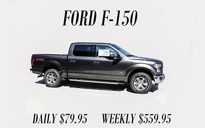 Ford F-150 Rental O. C. Welch Ford Lincoln Inc.