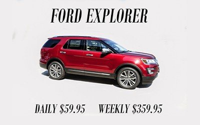 Ford Explorer Rental O. C. Welch Ford Lincoln Inc.