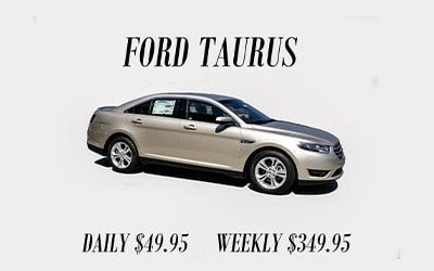 Ford Taurus Rental O. C. Welch Ford Lincoln Inc.