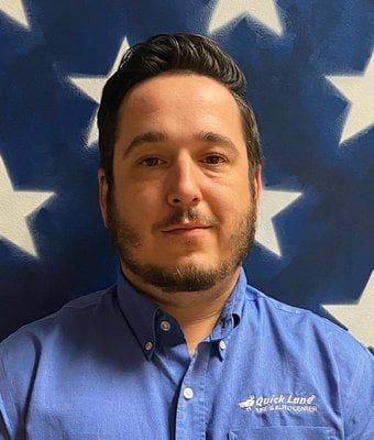 Service Director Nathan Eady in Service at O. C. Welch Ford Lincoln Inc.