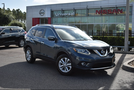 A used 2014 Nissan Rogue available at Universal Used Car Superstore in Orlando.