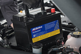 Coupon for PROFESSIONAL SILVER BATTERY Most ACDelco Professional Silver Batteries Installed