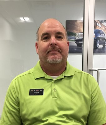 Service Manager Kevin Ladnier in Service at Peach Chevrolet Buick GMC